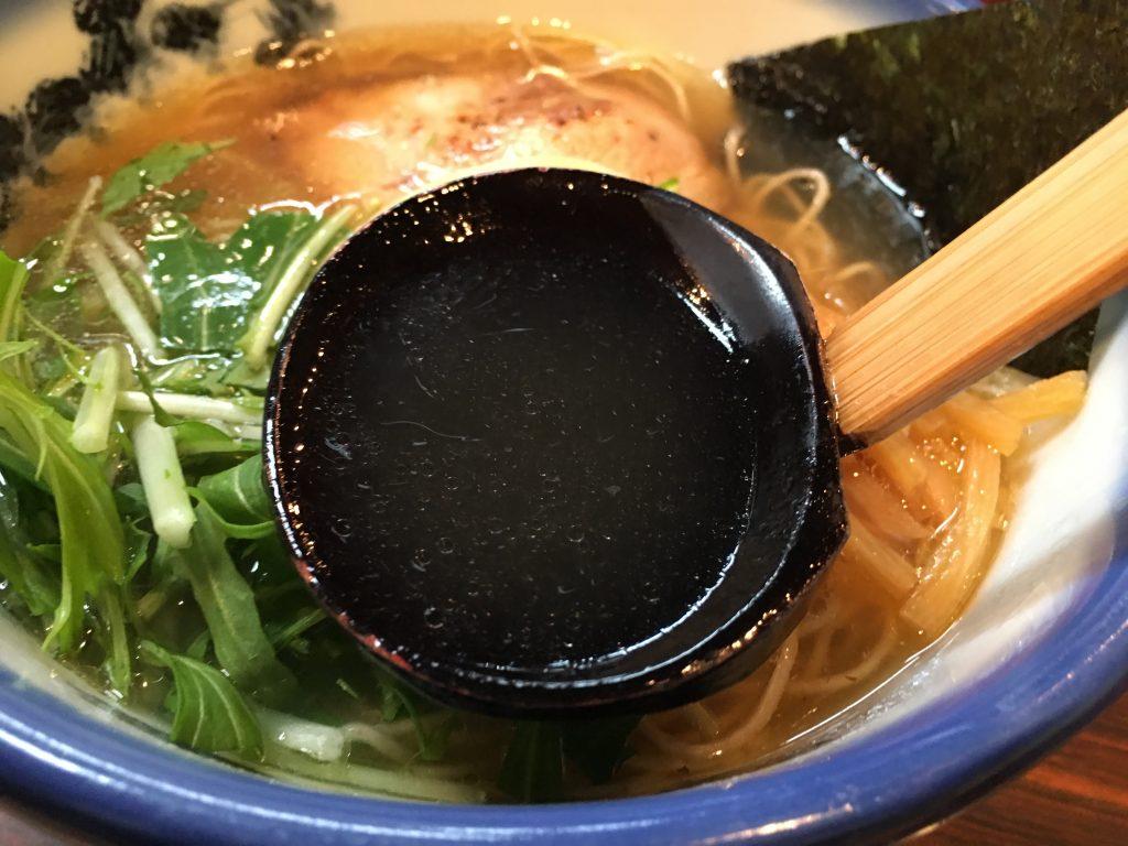 柚子塩ラーメンスープ