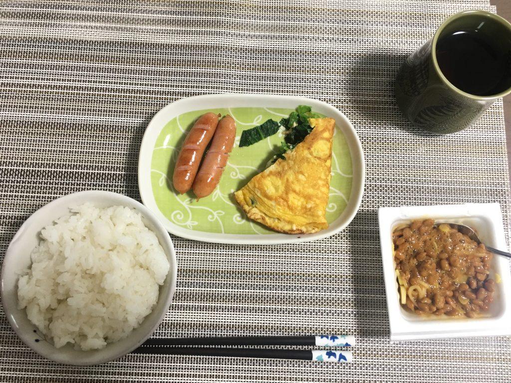 2017/2/20朝ご飯