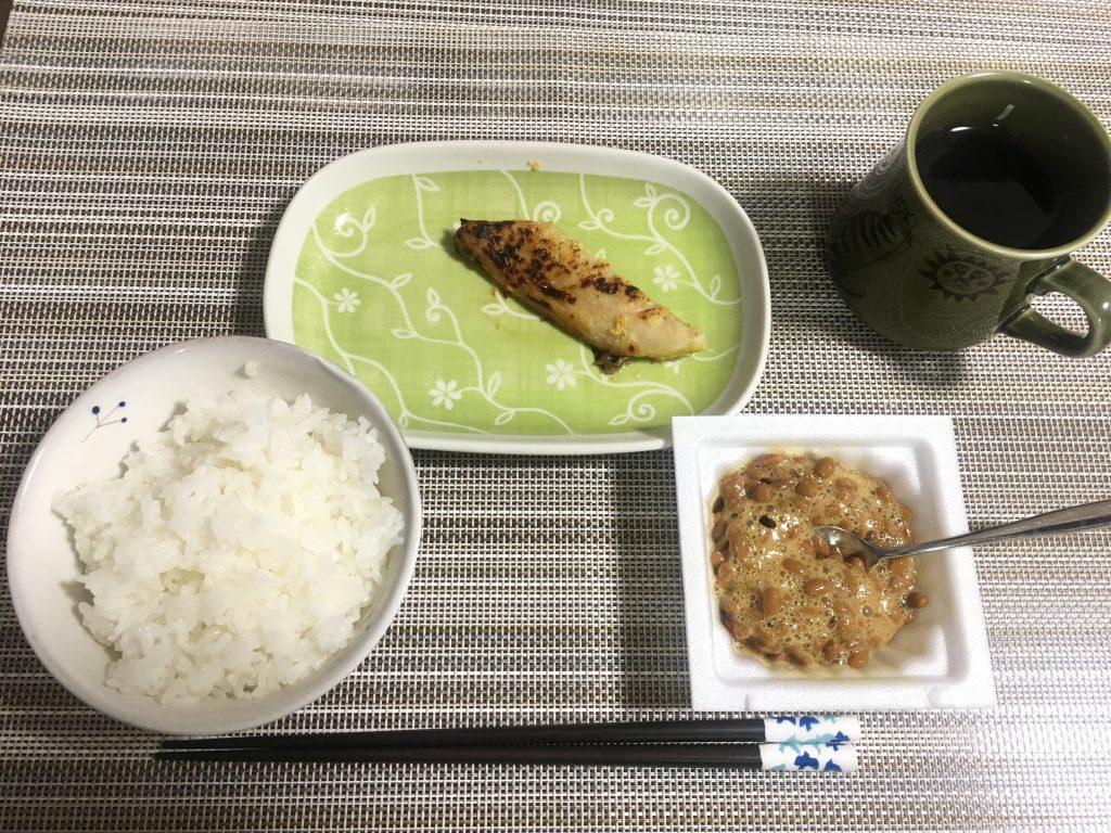 2017/2/22朝ご飯