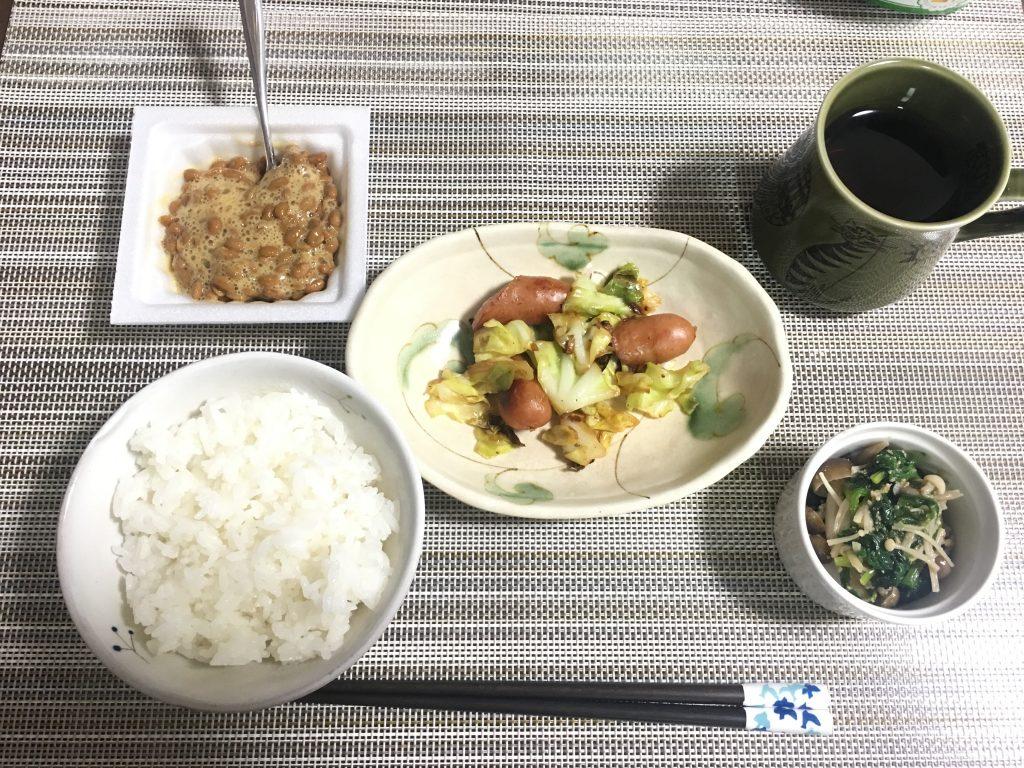 2017/2/23朝ご飯