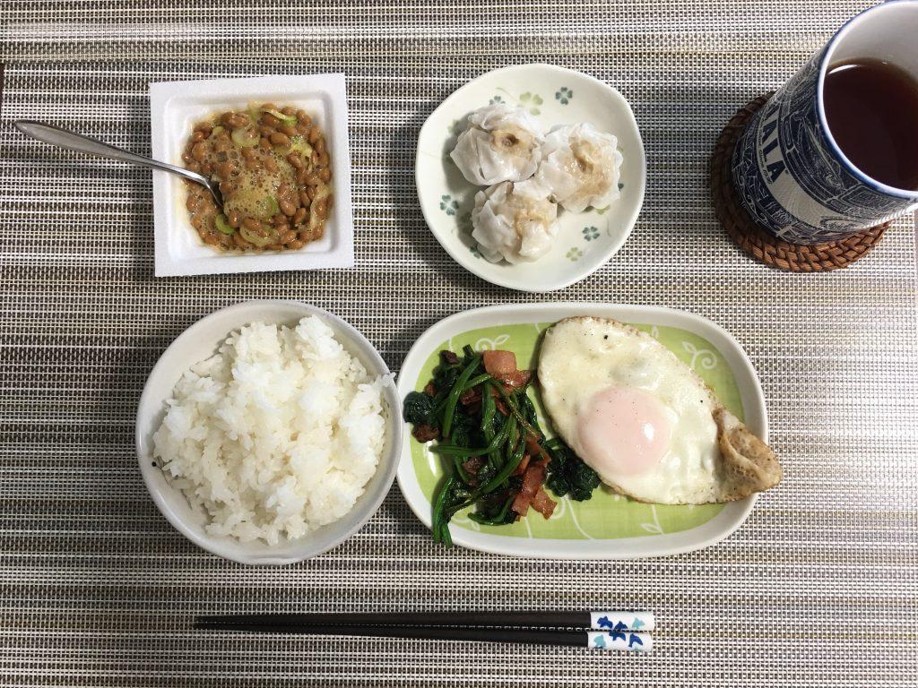 2017/2/17朝ご飯