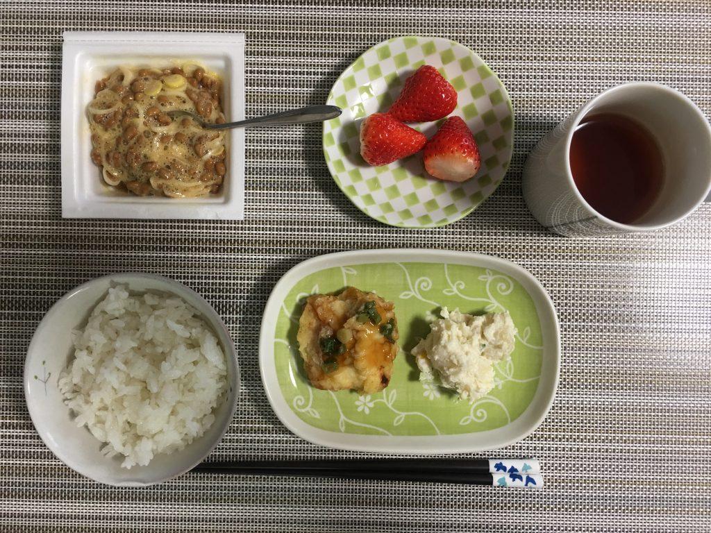 2017/3/17朝ご飯