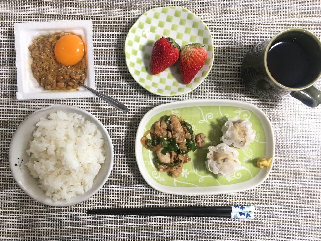 2017/3/28朝ご飯