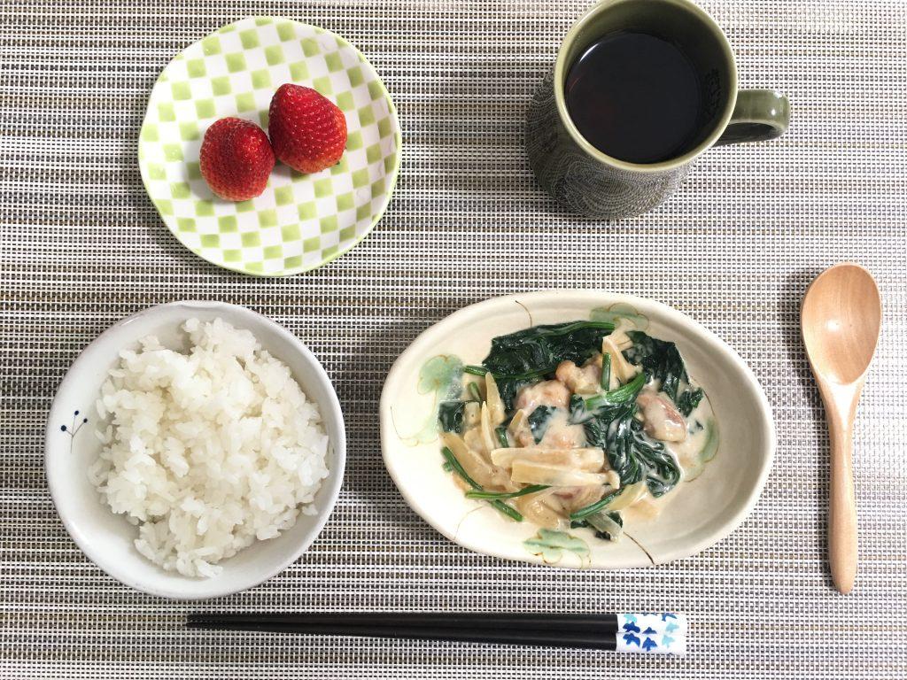 2017/3/29朝ご飯