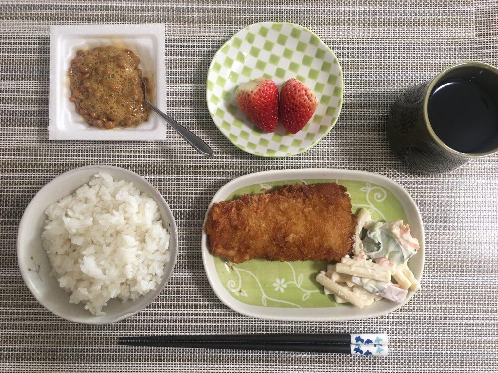 2017/3/30朝ご飯